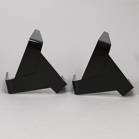 Marke niskala-luostarinen, a pair of mid 20th century 'tabouret' stools for oy stockmann ab, keravan puusepäntehdas.