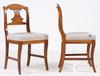 Stolar, 1 par, provinsarbete, 1800-tal.