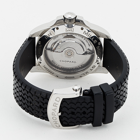 Chopard, mille miglia gran tourismo xl, armbandsur, 44 mm.