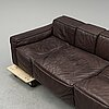 Claesson koivisto rune, a leather covered 'boxplay' sofa from swedese.