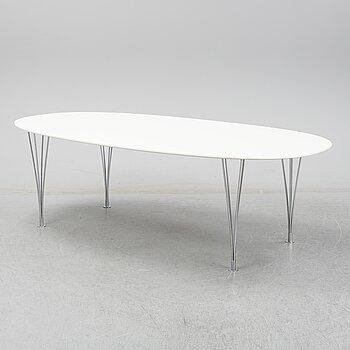 A 'Superellips' table by Piet Hein & Bruno Mathsson by Mathsson International, Värnamo.