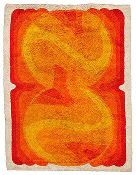 1007. A carpet, a machine made pile carpet, ca 380-382 x 287,5-289 cm, probably DESSO the 1970's.