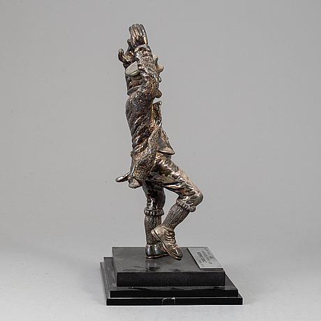 Ben zion, skulptur, silver, israel.