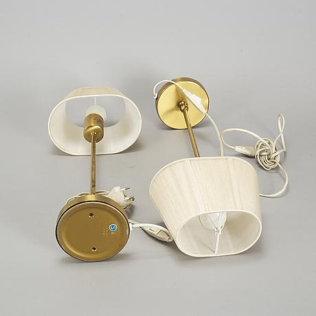 "A pair of josef frank ""model 2332/2"" table lamps, firma svenskt tenn."