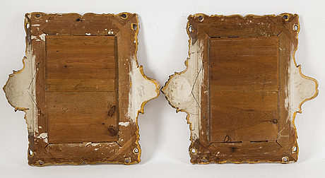 A pair of 19th century wall sconces.