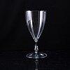Simon gate, a glass vase, orrefors 1920's.