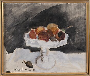 ANITA SNELLMAN, oil on canvas, signed and dated -64.