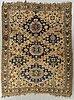 An antique soumak carpet ca 280 x 22 cm.
