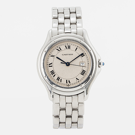 Cartier, cougar, wristwatch, 32.5 mm.