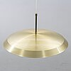Carl fagerlund, ceiling light, orrefors, second half of the 20th century.