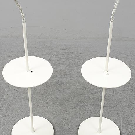 Niclas hoflin, a pair of 'arkipelag' floor lamps for ruben 2005.