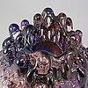 GÖran wÄrff, a glass sculpture from kosta boda.