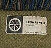 "Lena rewell-gripenberg, matta, ""troll"", lena rewell  textilstudio. ca 200x140 cm."