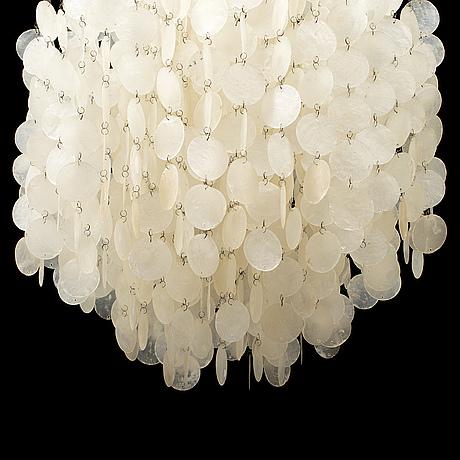 "Verner panton, a ""fun lamp"" ceilinglamp for lüber, switzerland."