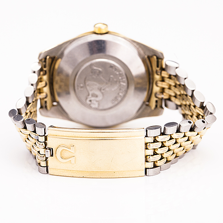Omega, seamaster, wrist watch, 35 mm.