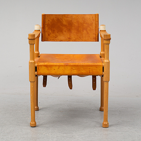 A late 20th century arm chair.