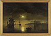 Ehrnfried wahlqvist, oil on canvas/panel, signed and dated 187?.