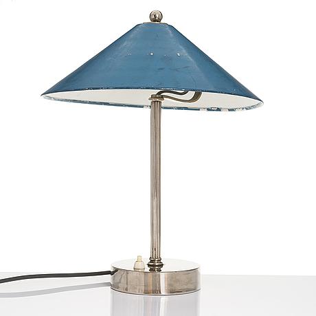 Paavo tynell, bordslampa, modell 5010, taito 1930-tal.