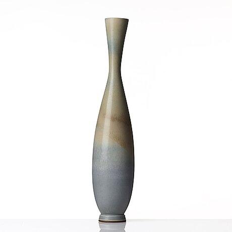 Berndt friberg, a stoneware vase, gustavsberg studio, sweden.