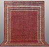 A carpet, sarouk - mir, ca 413 x 301 cm.