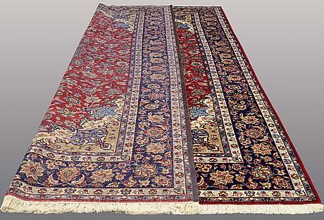 A carpet, najafabad, ca 506 x 318 cm.