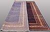 A carpet, sarouk - mir, ca 393 x 297 cm.
