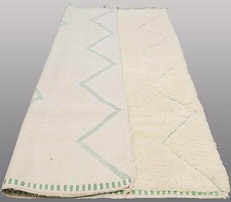 A carpet, morocco, ca 320 x 210 cm.