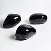 """Alexander lamont, """"lustre stones"""" 3 pieces, 21st century."""