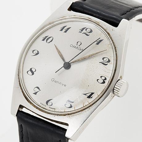 Omega, geneve, wristwatch 34 mm.