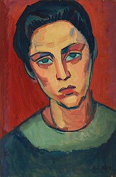 402. André Lhote, Portrait of a woman.