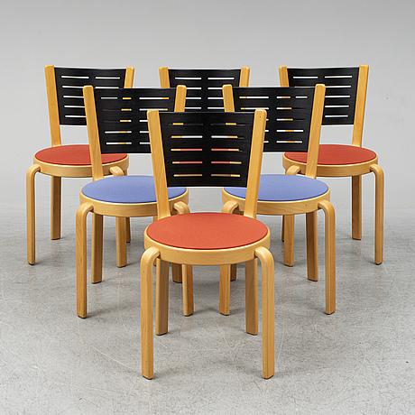 Rud thygesen & johnny sØrensen, 4+2 chairs, magnus olesen a/s, durup, denmark.