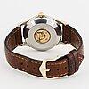 Omega, constellation, chronometre, 'pie-pan', wristwatch, 33 mm,