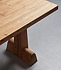 "Axel einar hjorth, an ""utö"" stained pine console table, nordiska kompaniet, sweden 1930's."
