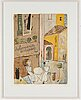 Madeleine pyk, lithographs in colour, 3, signed 641/5000.