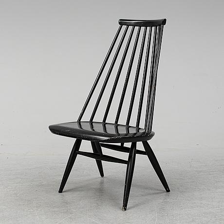 Ilmari tapiovaara, a 'mademoiselle' chair, edbyverken 1959. signed.