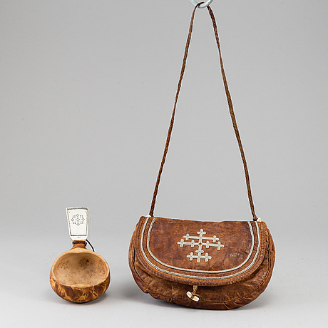 Two sami items, one lars olof parfa.