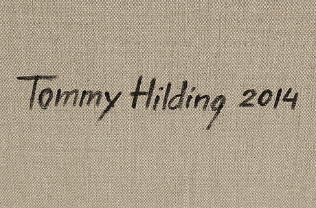 Tommy hilding, untitled.