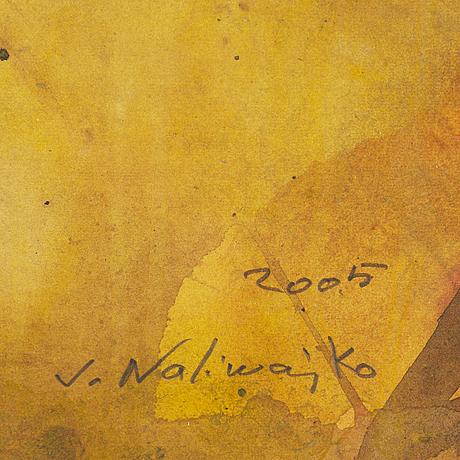 Jan naliwajko, watercolour, signed and dated 2005.