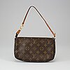 Louis vuitton, a monogram canvas pochette, 2003.