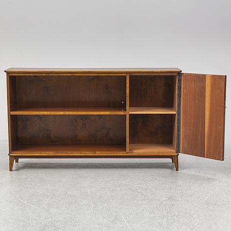 A mid 20th century bookshelf.