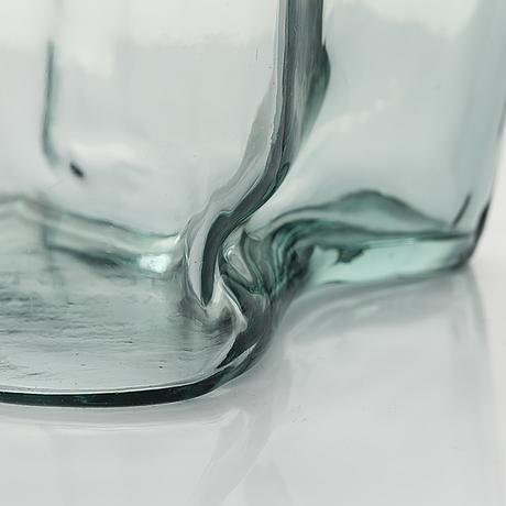 Alvar aalto, a 'savoy' vase signed karhula 22 ix 37.