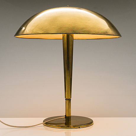 Paavo tynell, a1930/1940s table lamp model 5061 for taito/idman finland.