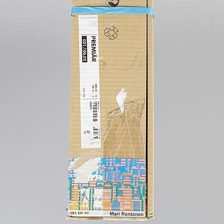 """Mari rantanen, """"premiär"""", screen print on canvas, from ikea art event-series, september 2006. not opened packaging."""