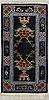 Matta, tibet sannolikt, ca 180,5 x 90 cm (samt kortsidorna med ca 1,5 cm slätväv).