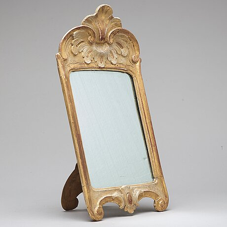 A table dressing mirror, rococo-style, 20th ct.