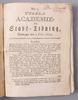 Inbunden tidning samt kungÖrelse, 2 st, bla upsala academie och stadstidning. 1754 resp 1793.