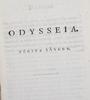 BÖcker, 6 st, 2 st vol i resp 4 st vol ii, odyssen, översatt av marcus wallenberg. linköping 1819-1821.