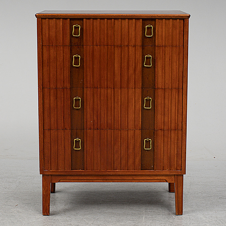A swedish modern chest of drawers, mid 20th century.