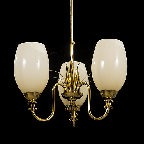 A chandelier by idman 51175 from 1950's.