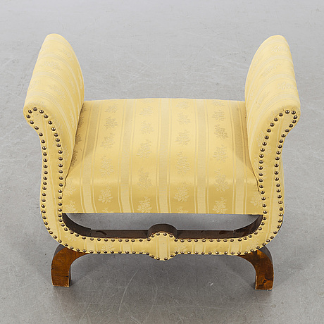 Otto schulz, a 1930's boet's footstool.